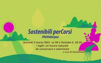 Evento#6 Sostenibili Percorsi – I laghi: un tesoro naturale da conservare e valorizzare